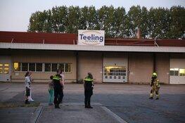 Brand bij dierenvoedingbedrijf Opmeer