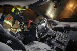 Autobrand in Spanbroek