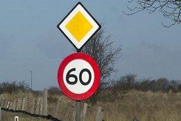 Provincie is bereid snelheid A.C. de Graafweg door Opmeer te verlagen