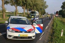 Auto te water in Opmeer