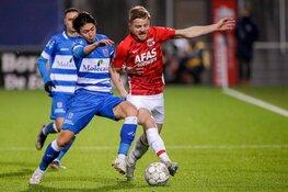 PEC Zwolle en AZ delen opnieuw de punten